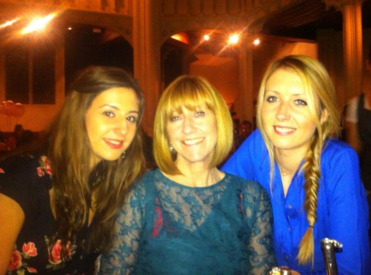 Nat, Mum & I at Zizzi