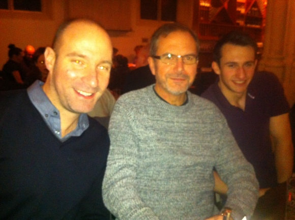 Alan, Dad & Rob at Zizzi